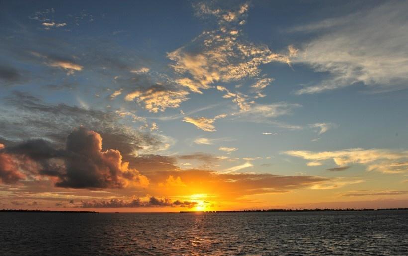 马尔代夫瑞喜顿岛风景写真