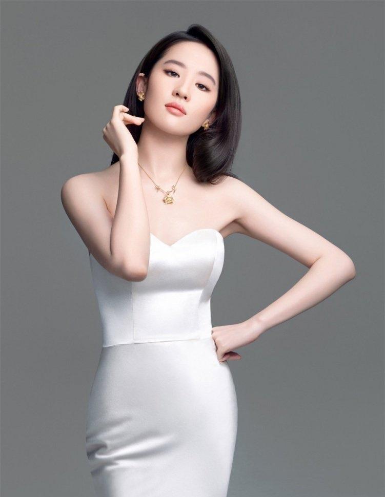 古典美女刘亦菲 珠宝广告摄影