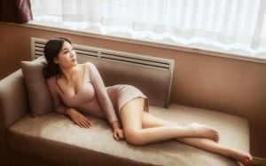 水蜜桃成熟美女性感诱人写真