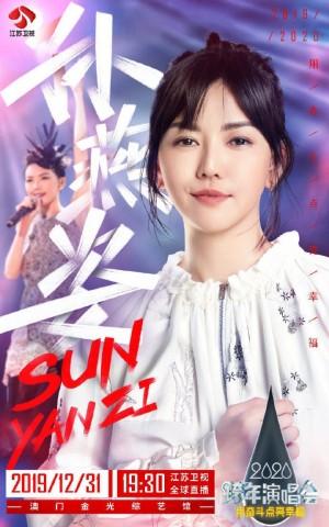 2019江苏卫视跨年演唱会阵容海报图片