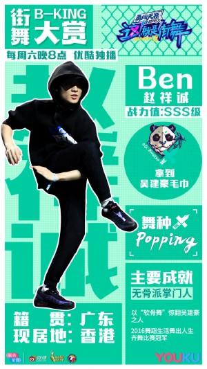 《这就是街舞2》学员海报图片