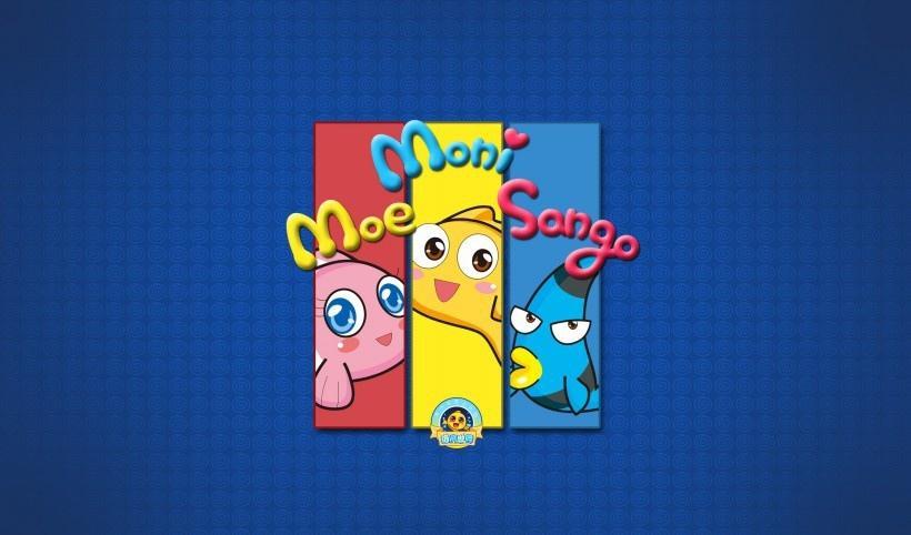 儿童游戏海底世界卡通图片
