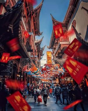传统与现代交织构成上海的日常美景,新与旧之歌的魔都