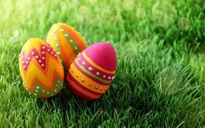 复活节唯美彩蛋高清壁纸图片