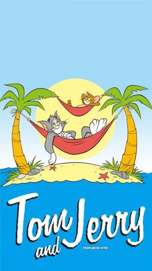 美国动画猫和老鼠创意卡通高清手机壁纸