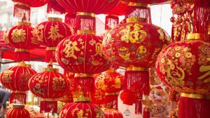 新年春节喜庆灯笼图片