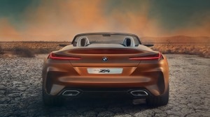 宝马BMW Z4豪华跑车高清桌面壁纸