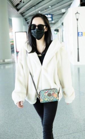 王智机场时尚街拍