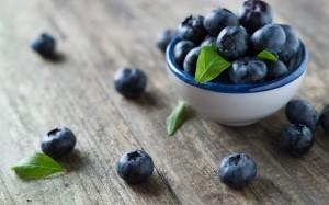 营养丰富的美味蓝莓