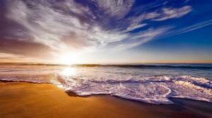 加利福尼亚唯美日落美景高清桌面壁纸