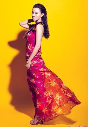 小宋佳:长裙飘飘写真大片