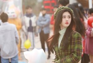 美女明星鞠婧祎时尚写真优雅照片