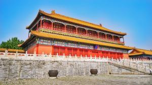 北京故宫建筑旅游景点图片桌面壁纸