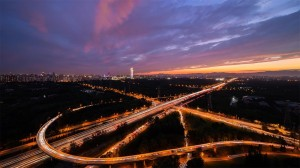 北京璀璨夜晚美景高清桌面壁纸