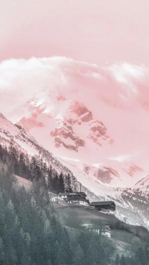 二十四节气霜降风景图