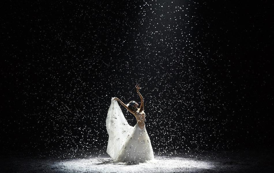 《孔雀之冬》成都公演 杨丽萍起舞宛若仙子写真