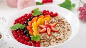 让人流口水的水果黄金早餐高清桌面壁纸