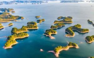 杭州千岛湖秀美风景桌面壁纸