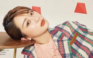杨紫时尚杂志写真图片
