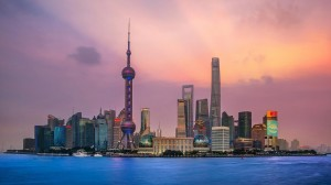 美轮美奂的上海景色