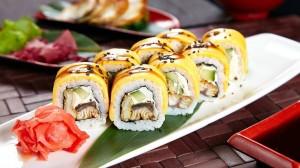 美味诱人的寿司