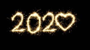2020年个性设计数字
