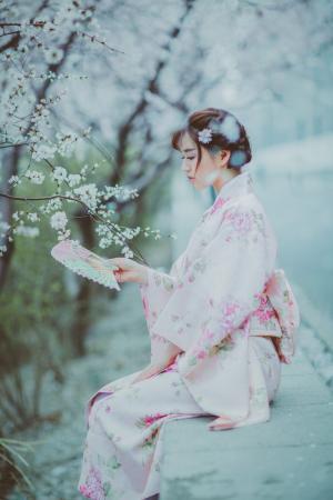 古装日本和服美女唯美浪漫迷人写真图片