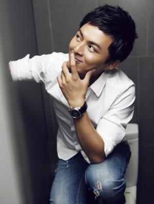 叶祖新帅气搞怪写真