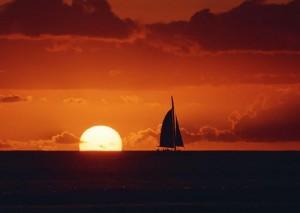 日落唯美景色高清手机壁纸