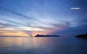 2021年2月养眼尕海湖自然风光日历