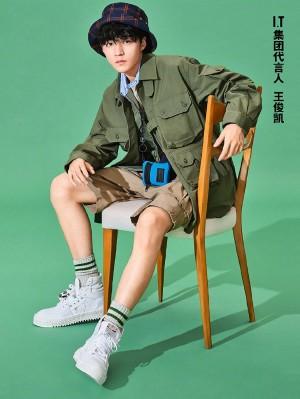 王俊凯夏日清新活力风格写真图片