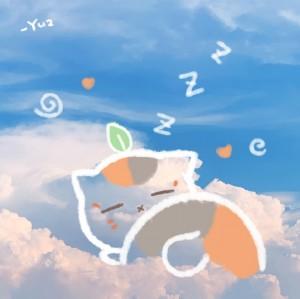 云朵上的招财猫