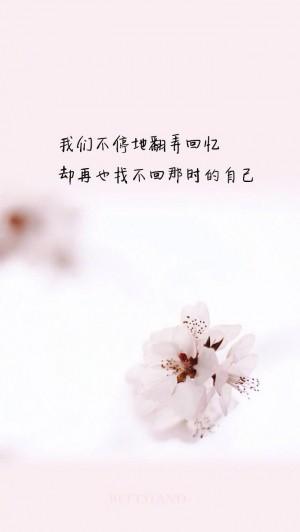 唯美心情个性简约文字语录图片