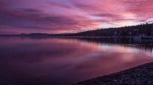美国太浩湖优美风景高清桌面壁纸