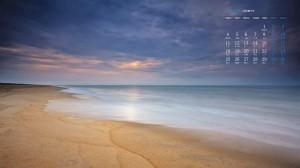 2020年5月清新壮观海边风景日历壁纸