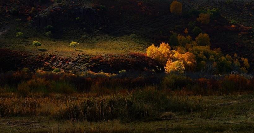 內蒙古烏蘭布統風景圖片