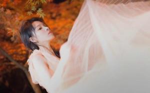 陈瑶白裙仙气高清桌面壁纸