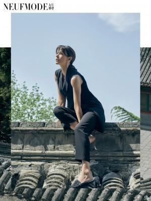 法国女星苏菲·玛索在北京四合院时尚魅力大片