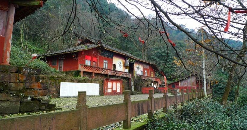 四川蒙顶山风景写真