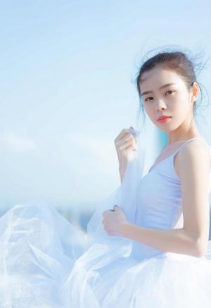 犹如天使般15岁清纯少女优雅舞蹈美图
