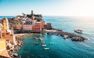 意大利五渔村风景高清图片