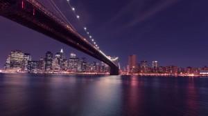 璀璨绚丽的城市夜景桌面壁纸