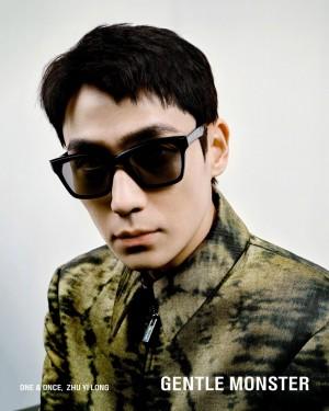 朱一龙酷帅有型时尚写真图片