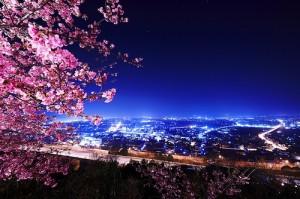 城市晚安圖片唯美