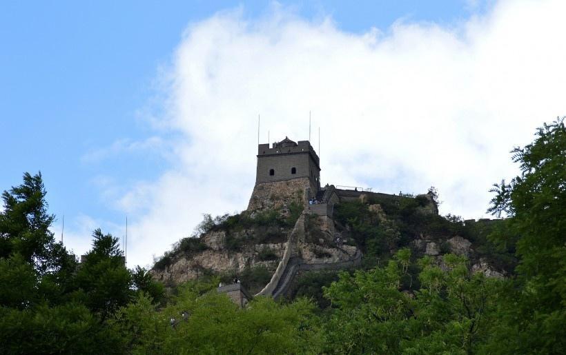 北京居庸关长城风景图片