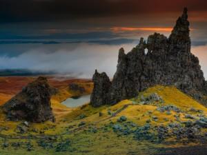 欣赏苏格兰秀美风光景色