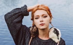 成熟性感欧洲时尚美女迷人魅力写真