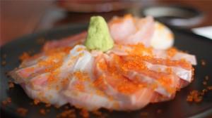 高大上日料生魚片高清桌面壁紙