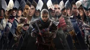《刺客信条英灵殿 Assassins Creed_ Valhalla》人物大全宣传高清壁纸