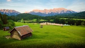 阿尔卑斯山超美风景高清手机壁纸